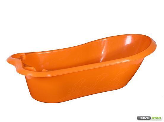 """Ванночка """"Стиль"""" 45 л (оранжевый)"""