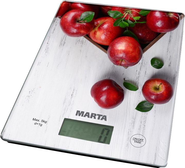 Кухонные весы Marta MT-1634 (яблоневый сад)